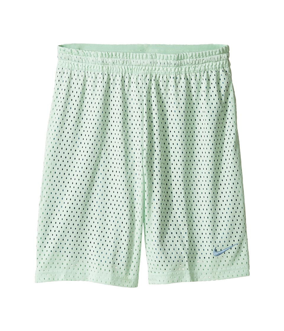 Nike Kids - 7 Training Short (Little Kids/Big Kids) (Fresh Mint/Smokey Blue/Smokey Blue) Girl's Shorts