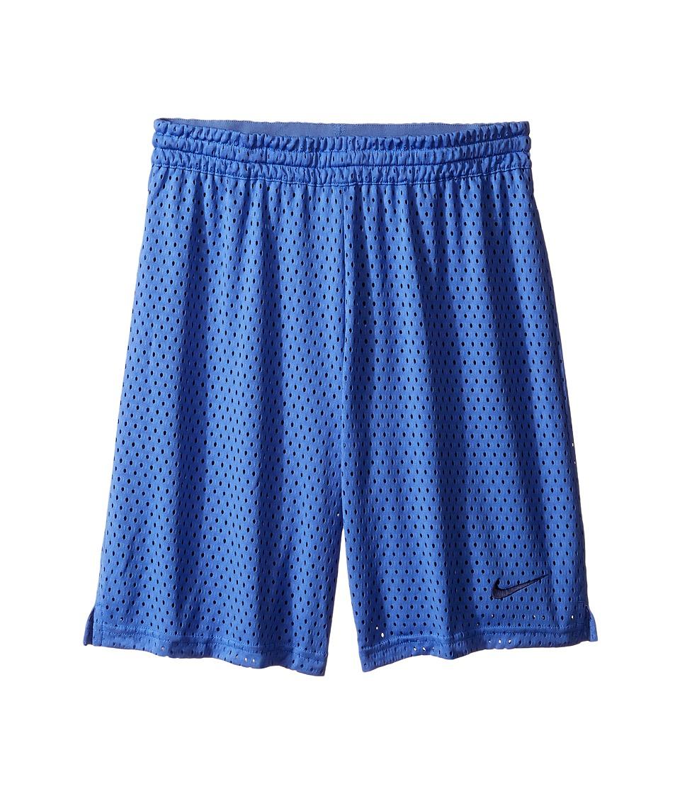 Nike Kids - 7 Training Short (Little Kids/Big Kids) (Comet Blue/Binary Blue/Binary Blue) Girl's Shorts