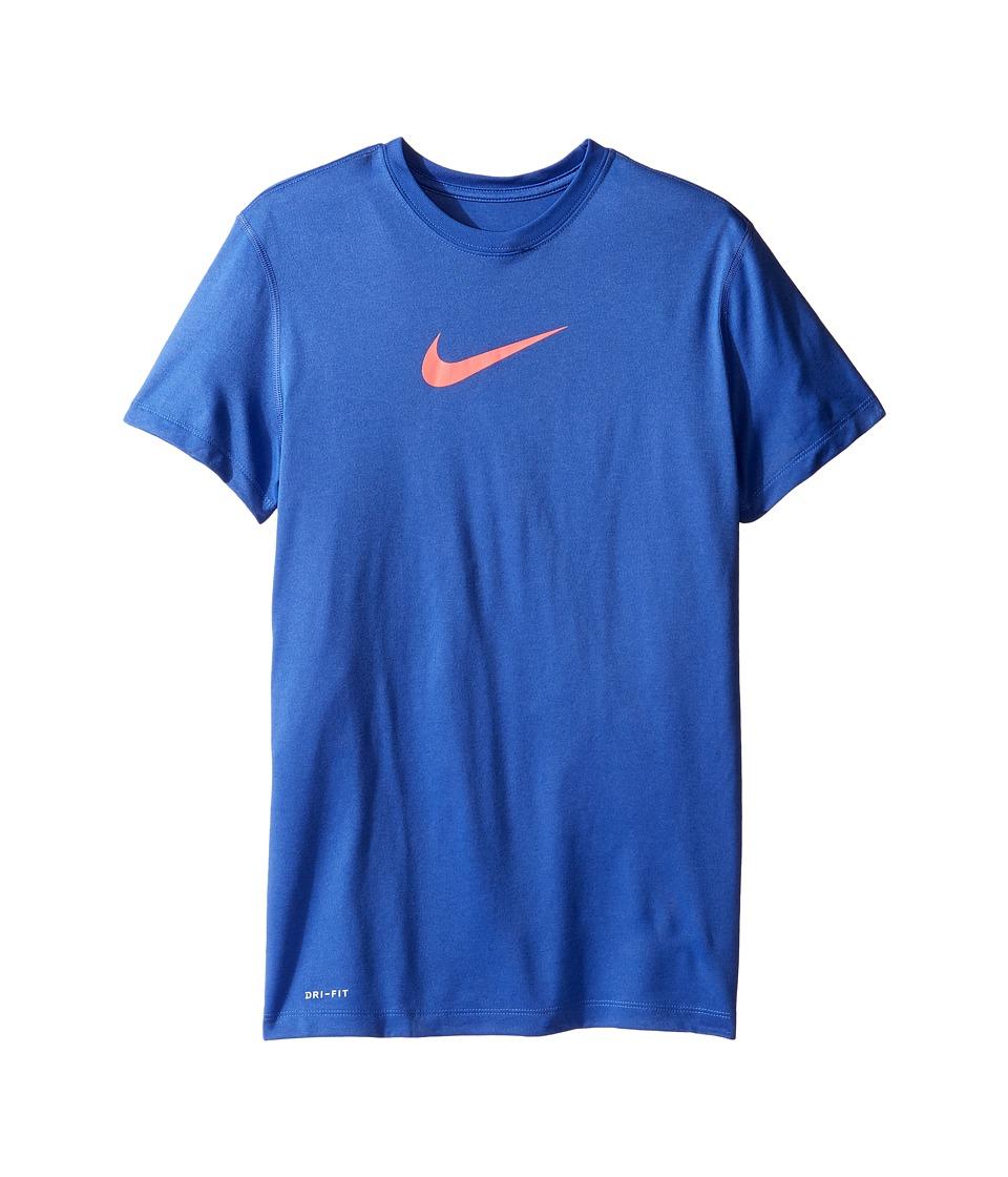 Nike Kids - Legend S/S Top (Little Kids/Big Kids) (Comet Blue) Girl's T Shirt