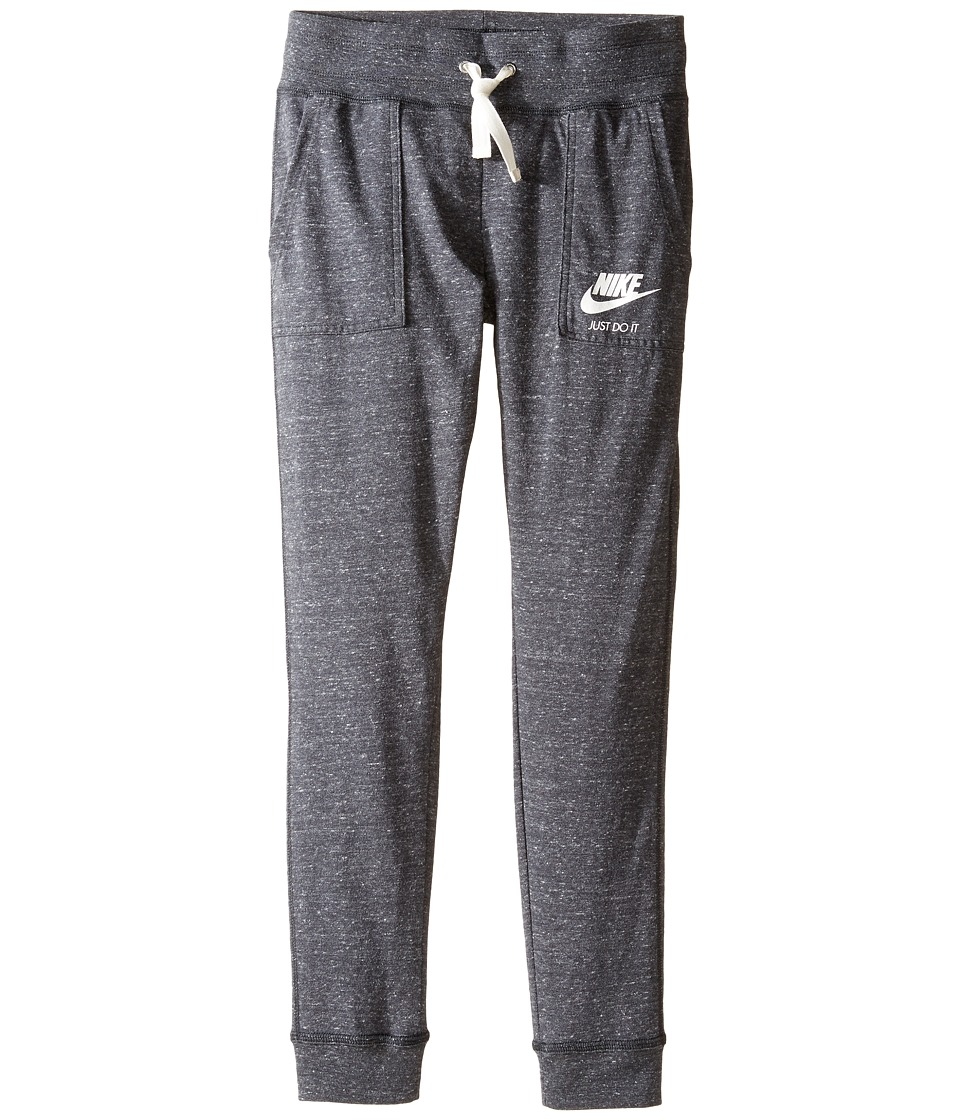Nike Kids - Sportswear Vintage Pant (Little Kids/Big Kids) (Anthracite/Sail) Girl's Casual Pants