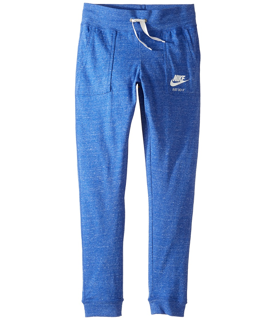 Nike Kids - Sportswear Vintage Pant (Little Kids/Big Kids) (Comet Blue/Sail) Girl's Casual Pants