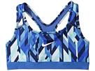 Nike Kids - Medium Support Printed Sports Bra (Little Kids/Big Kids)