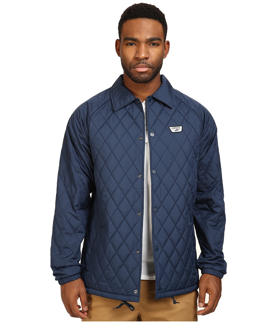 Vans - Torrey Quilt Mountain Edition Jacket (Dress Blues) Men's Coat