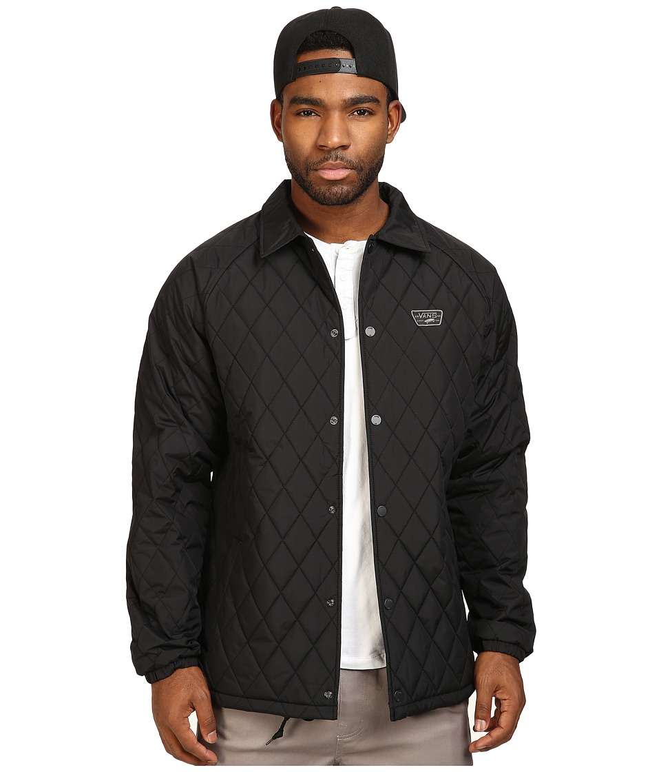 Vans - Torrey Quilt Mountain Edition Jacket (Black) Men's Coat