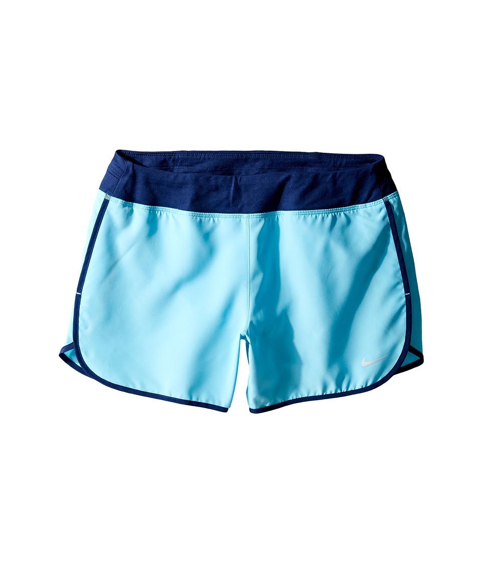 Nike Kids - Dry 3 Running Short (Little Kids/Big Kids) (Vivid Sky/Binary Blue) Girl's Shorts