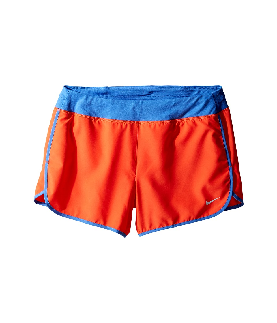Nike Kids - Dry 3 Running Short (Little Kids/Big Kids) (Max Orange/Comet Blue) Girl's Shorts