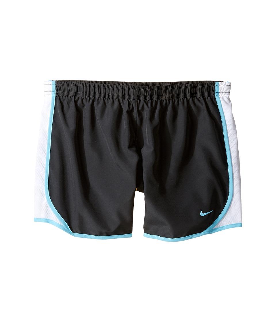Nike Kids - Dry Tempo Running Short (Little Kids/Big Kids) (Anthracite/White/Vivid Sky/Vivid Sky) Girl's Shorts