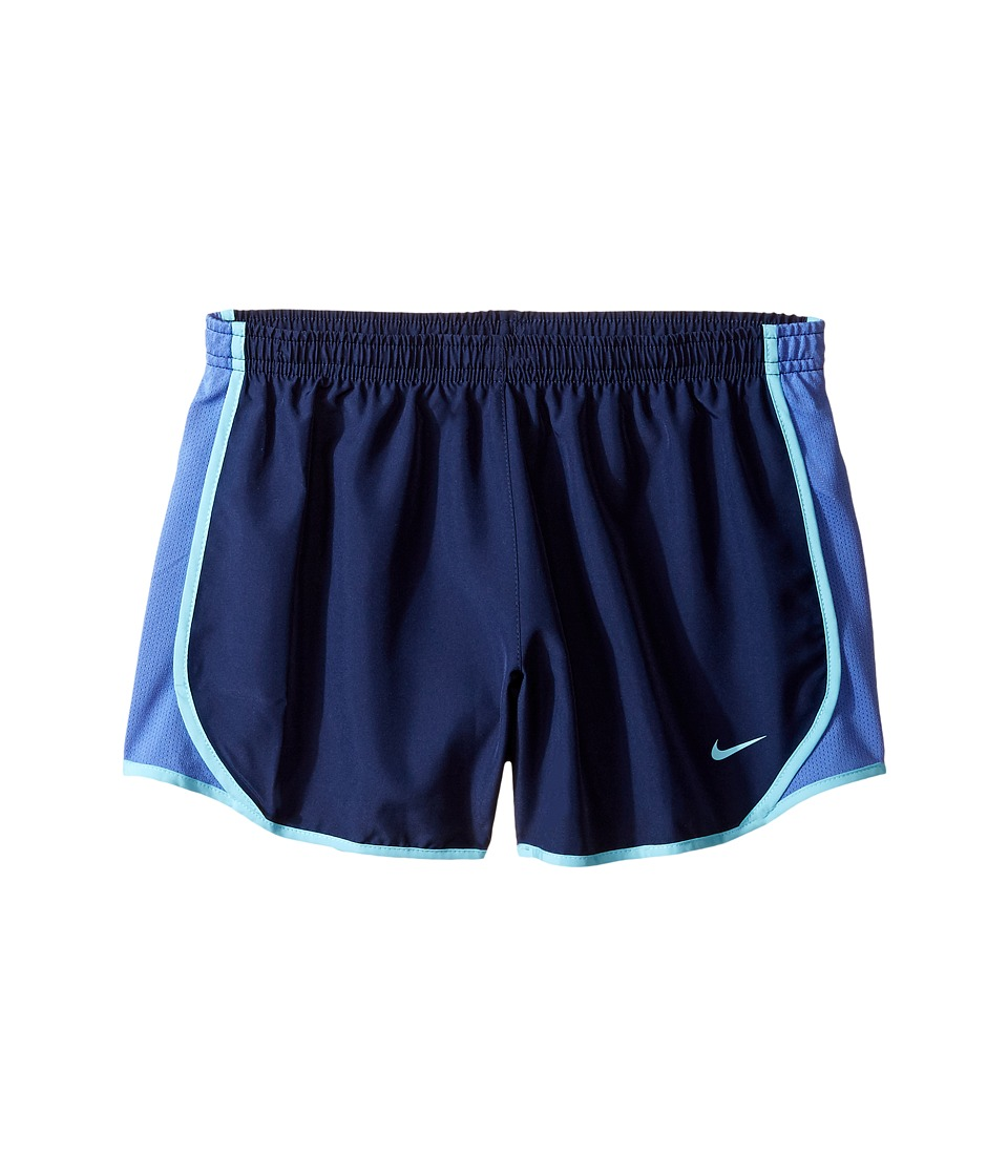 Nike Kids - Dry Tempo Running Short (Little Kids/Big Kids) (Binary Blue/Comet Blue/Vivid Sky) Girl's Shorts