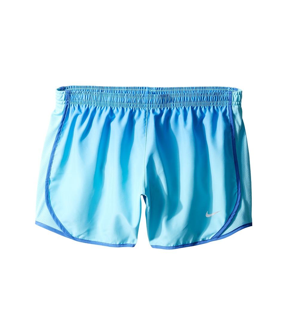 Nike Kids - Dry Tempo Gradient Running Short (Little Kids/Big Kids) (Comet Blue/Vivid Sky/Comet Blue) Girl's Shorts