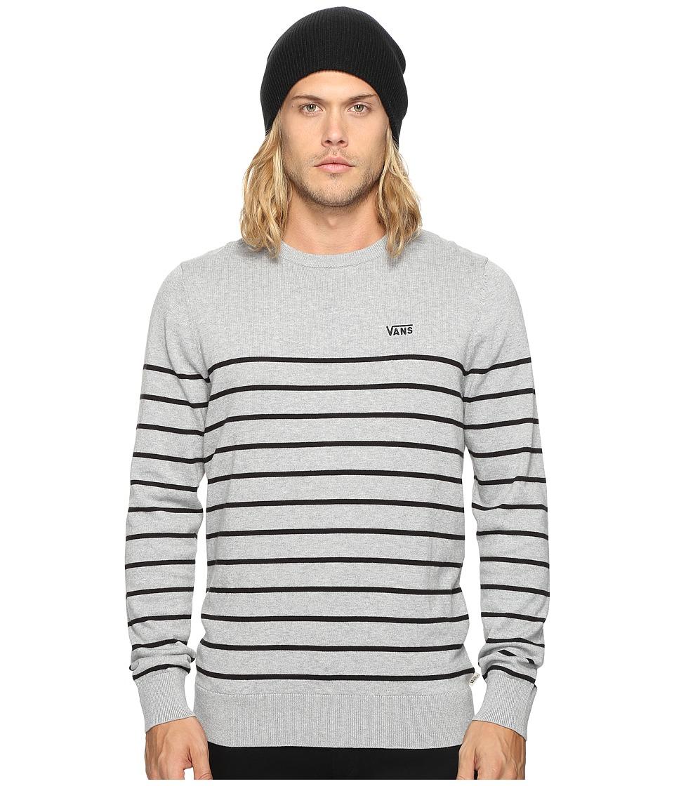 Vans - Livingston (Cement Heather/Black) Men's Clothing