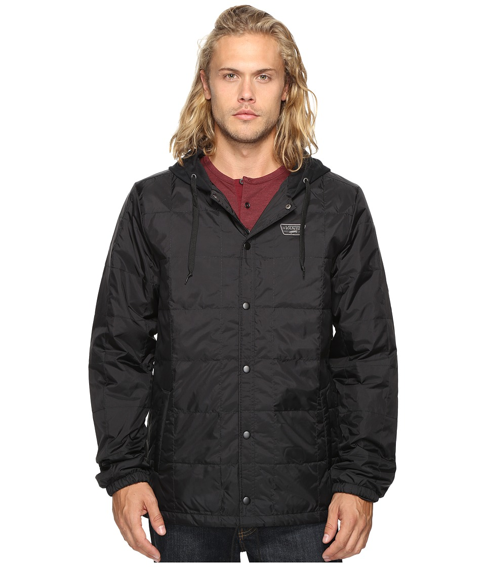 Vans - Santiago III Jacket (Black) Men's Coat