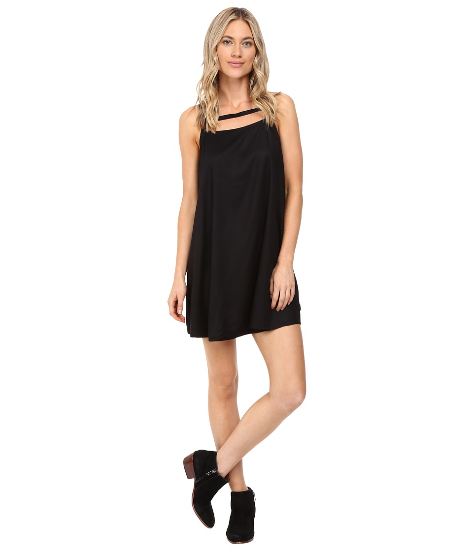RVCA - Crossed Dress (Black) Women's Dress