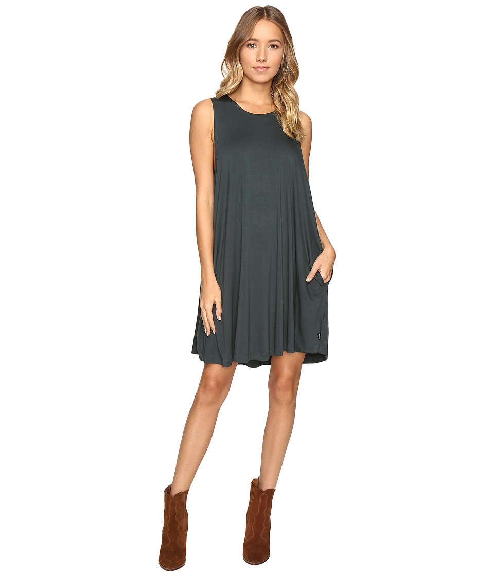 RVCA - Sucker Punch 2 Dress (Pine) Women's Dress