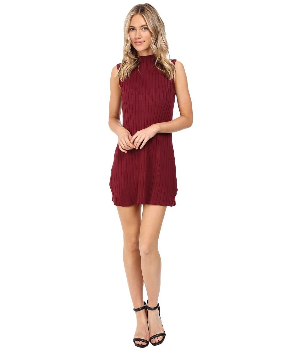 RVCA Banked Dress (Scarlet) Women