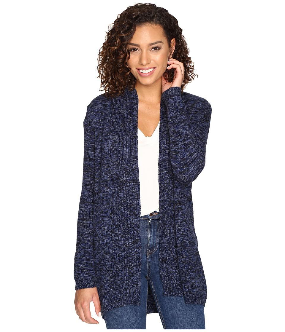 RVCA - All In Cardigan Sweater (Ink) Women's Sweater