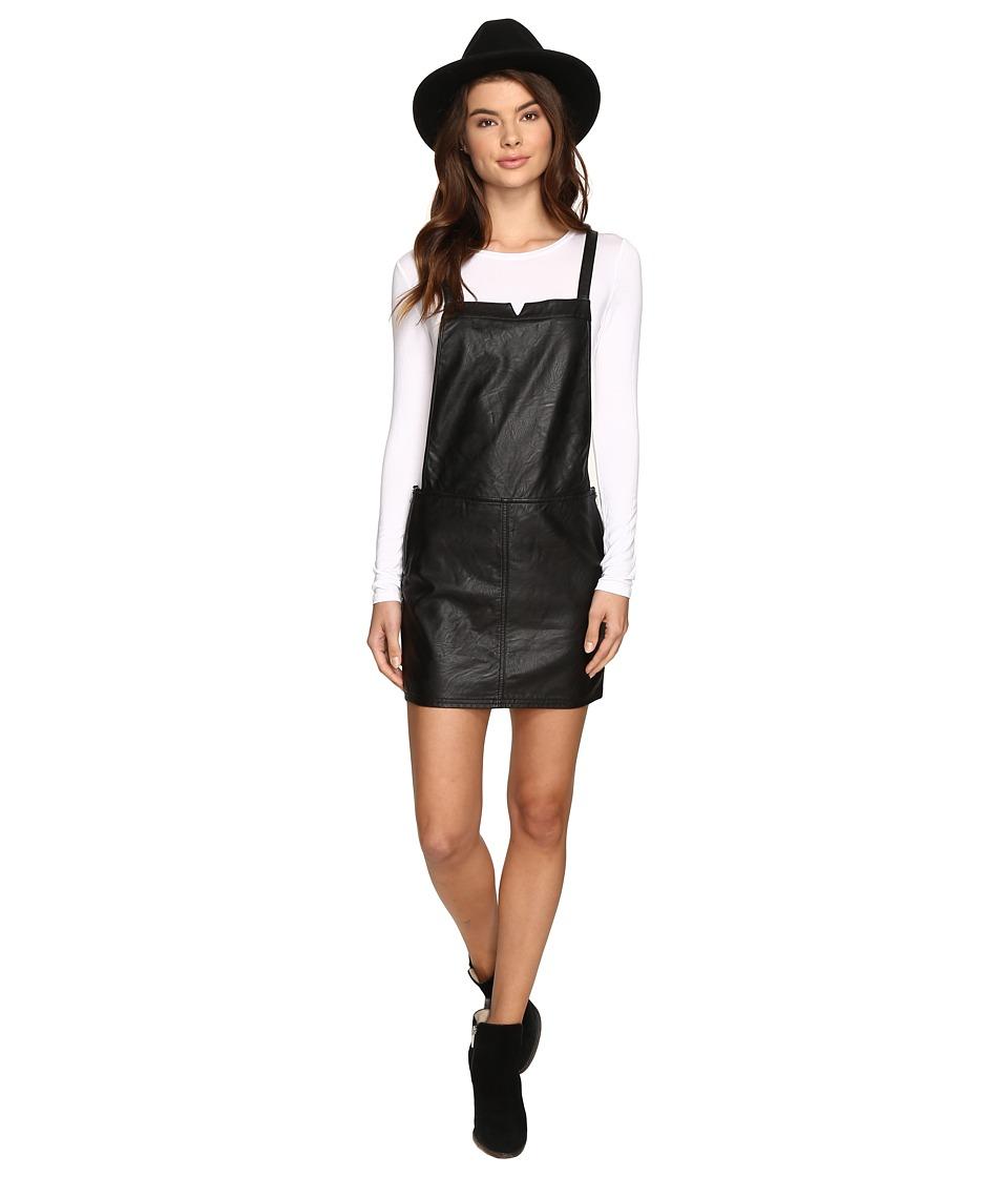 RVCA - Apologies Skirt Jumper (Black) Women's Jumpsuit & Rompers One Piece