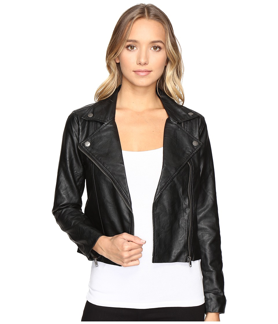 RVCA - Watney Jacket (Black) Women's Coat