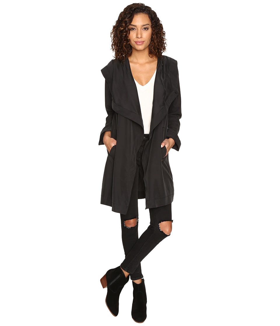 RVCA - Drape Me A River Jacket (Black) Women's Coat