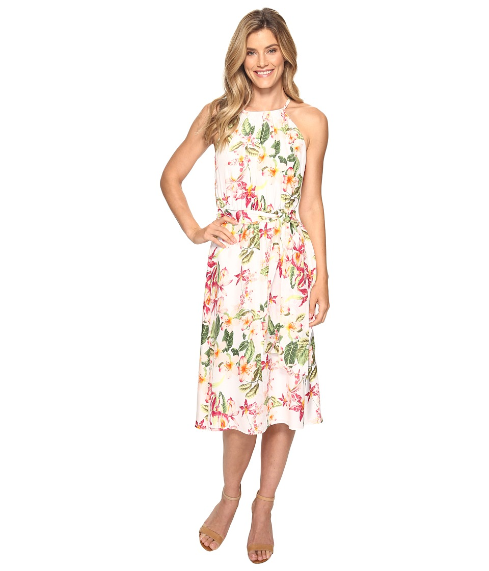 Tommy Bahama - Le Tigre Orchid Midi Dress (Veiled Rose) Women's Dress