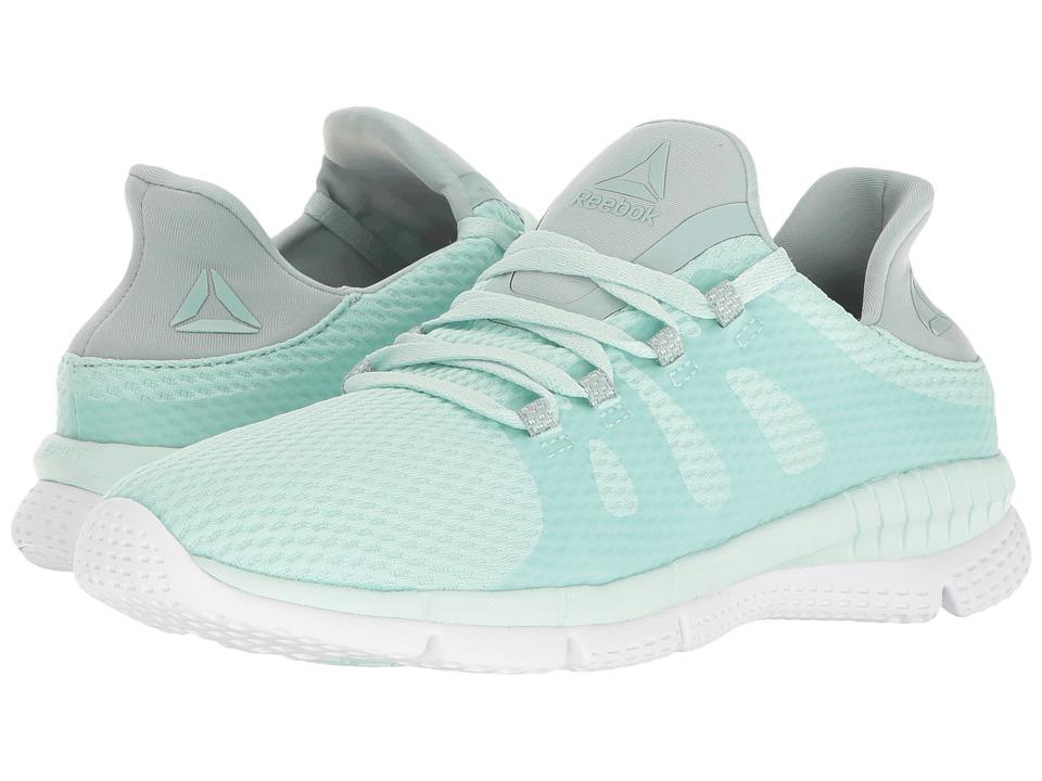 Reebok - ZPrint Her MTM (Mist/Seaside Grey/White) Women's Running Shoes