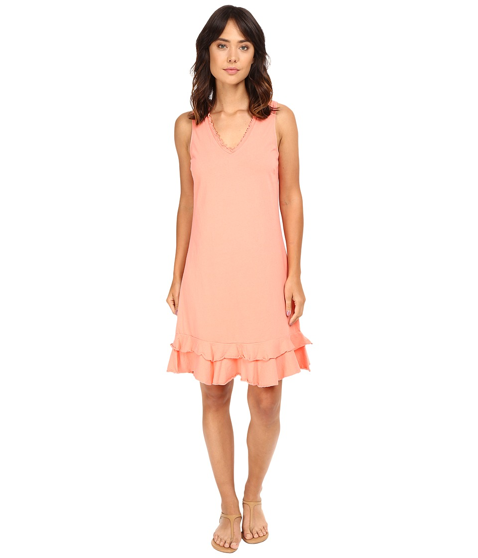 Fresh Produce - Sunrise Dress (Melon Sherbert Pink) Women's Dress