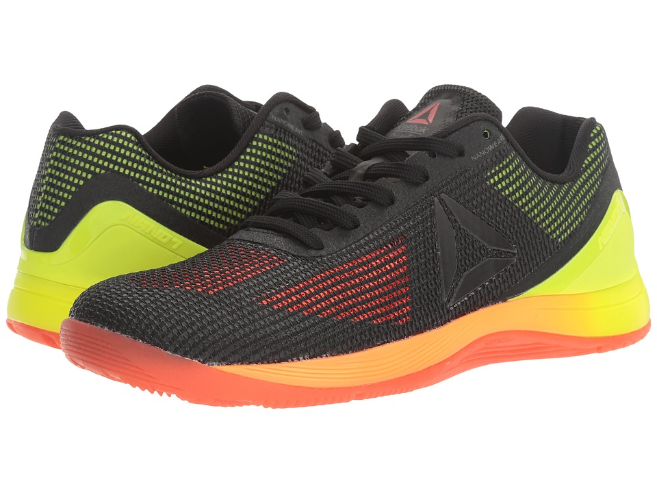 Reebok Crossfit(r) Nano 7.0 (Vitamin C/Solar Yellow/Black/Lead) Women