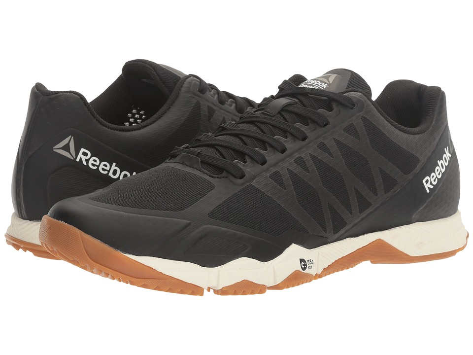 Reebok - Crossfit(r) Speed TR (Black/Ash Grey/Classic White/Rubber Gum/Pewter) Women's Cross Training Shoes