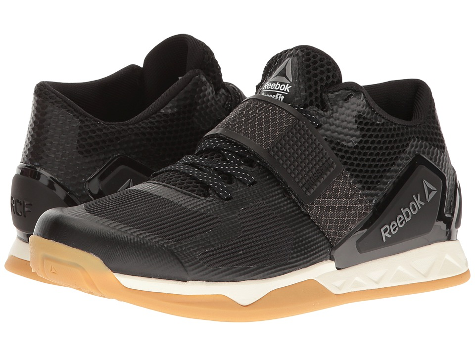 Reebok - Crossfit Transition LFT (Black/Classic White/Rbk Rubber Gum/Pewter) Women's Cross Training Shoes