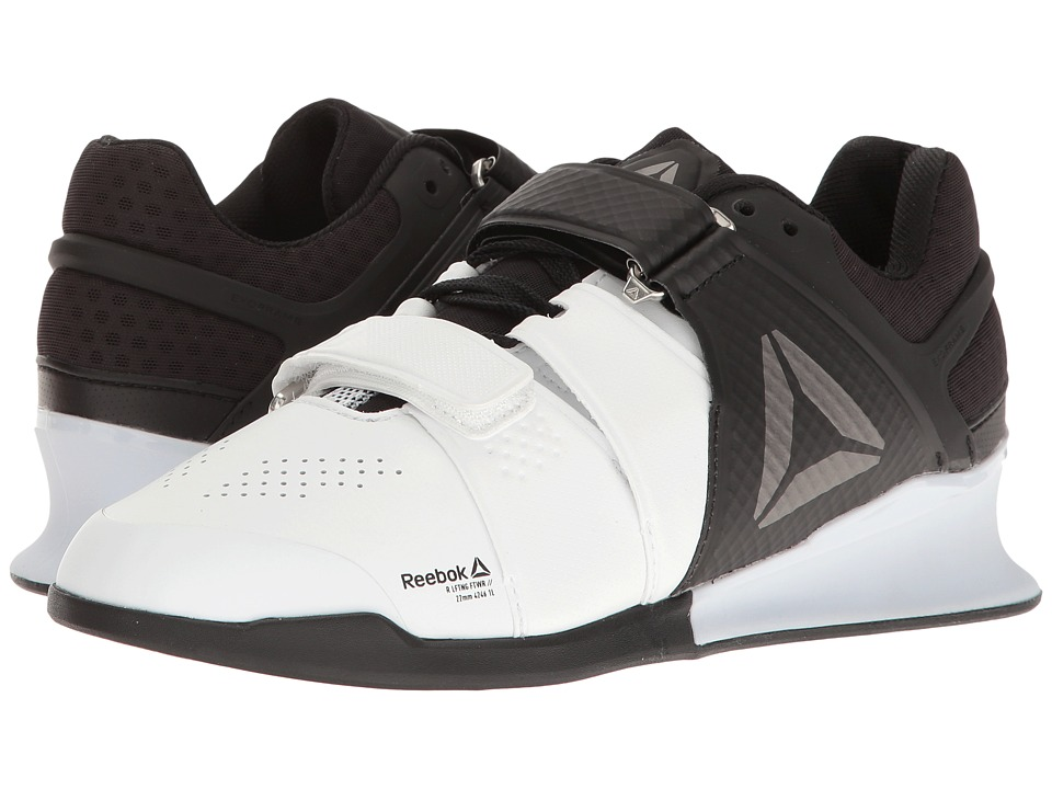 Reebok - Legacy Lifter (White/Black/Pewter) Women's Cross Training Shoes