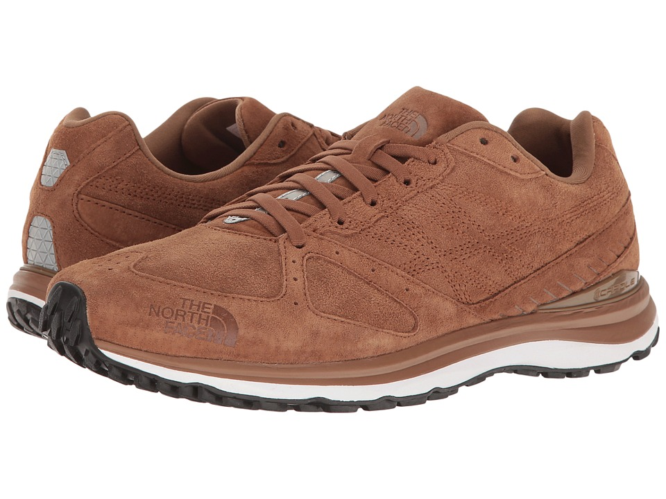 The North Face - Traverse TR Leather (Bronze Brown/TNF Black) Men's Shoes