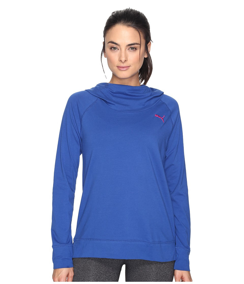 PUMA - High Life Hoodie (True Blue) Women's Sweatshirt