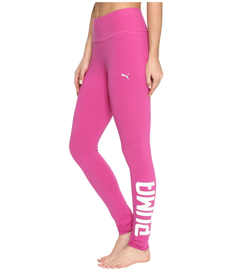 PUMA - Style Swagger Leggings (Rose Violet) Women's Workout