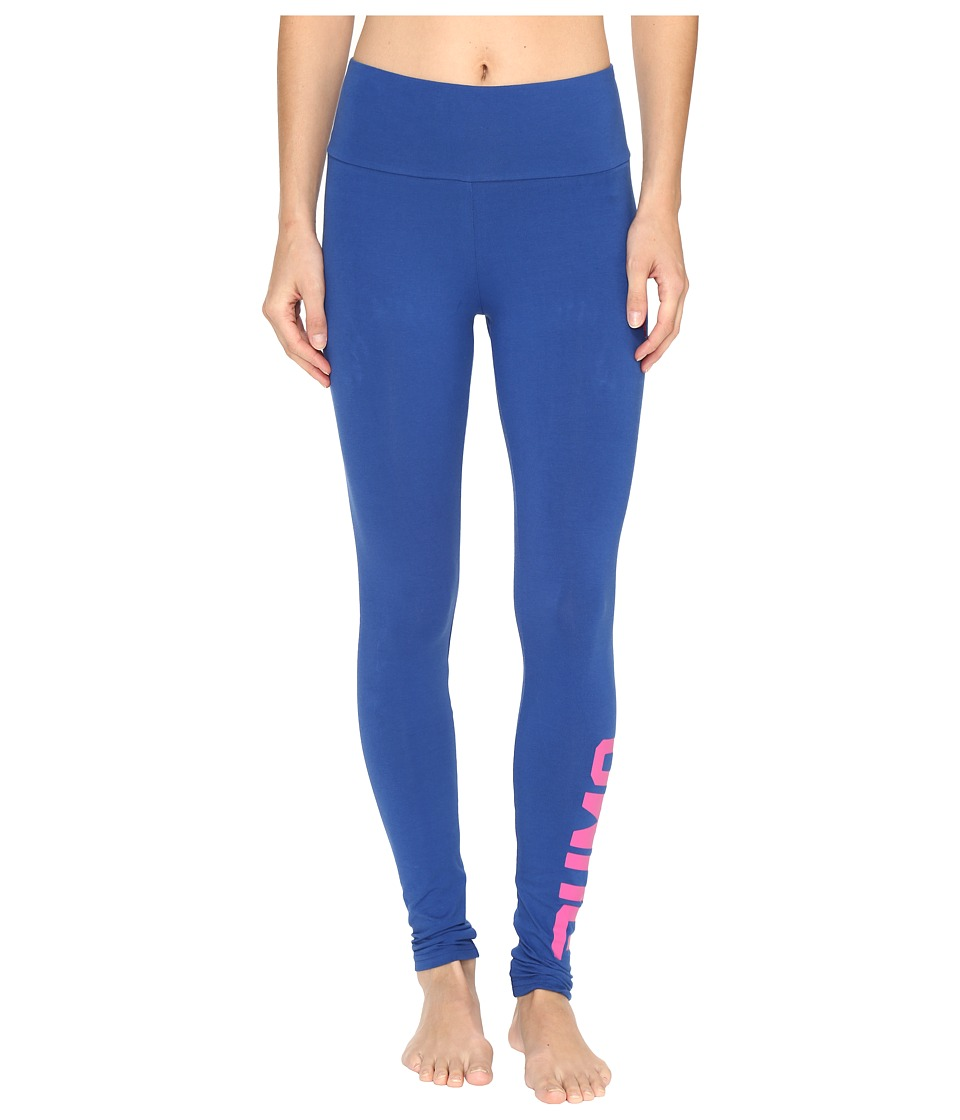 PUMA - Style Swagger Leggings (True Blue) Women's Workout