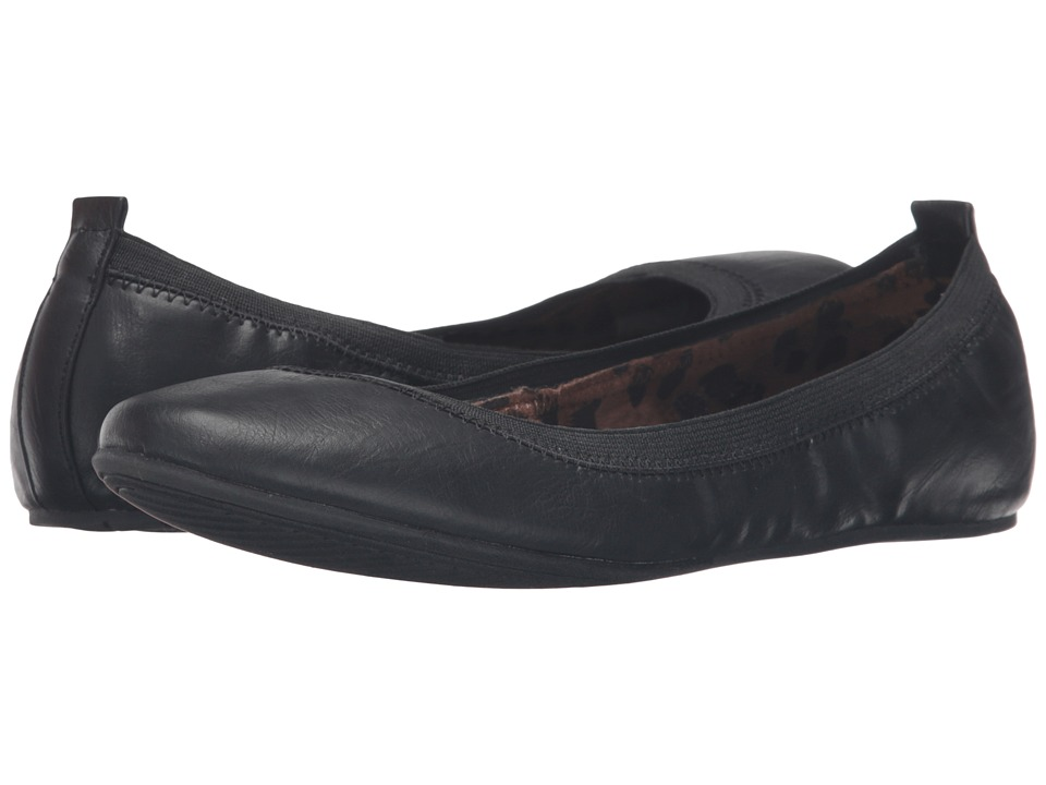 Kenneth Cole Unlisted - Whole Truth (Black) Women's Flat Shoes