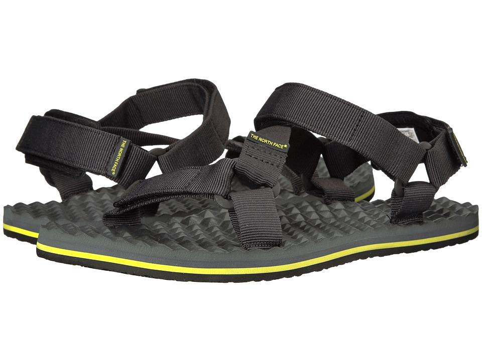 The North Face - Base Camp Switchback Sandal (TNF Black/Sulphur/Spring Green) Men's Sandals