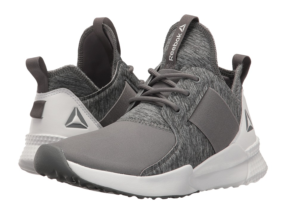 Reebok - Pilox 1.0 (Shark/White) Women's Cross Training Shoes