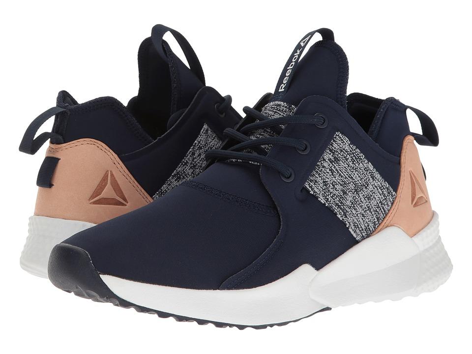 Reebok - Pilox 1.0 (Collegiate Navy/White/Veg Tan) Women's Cross Training Shoes
