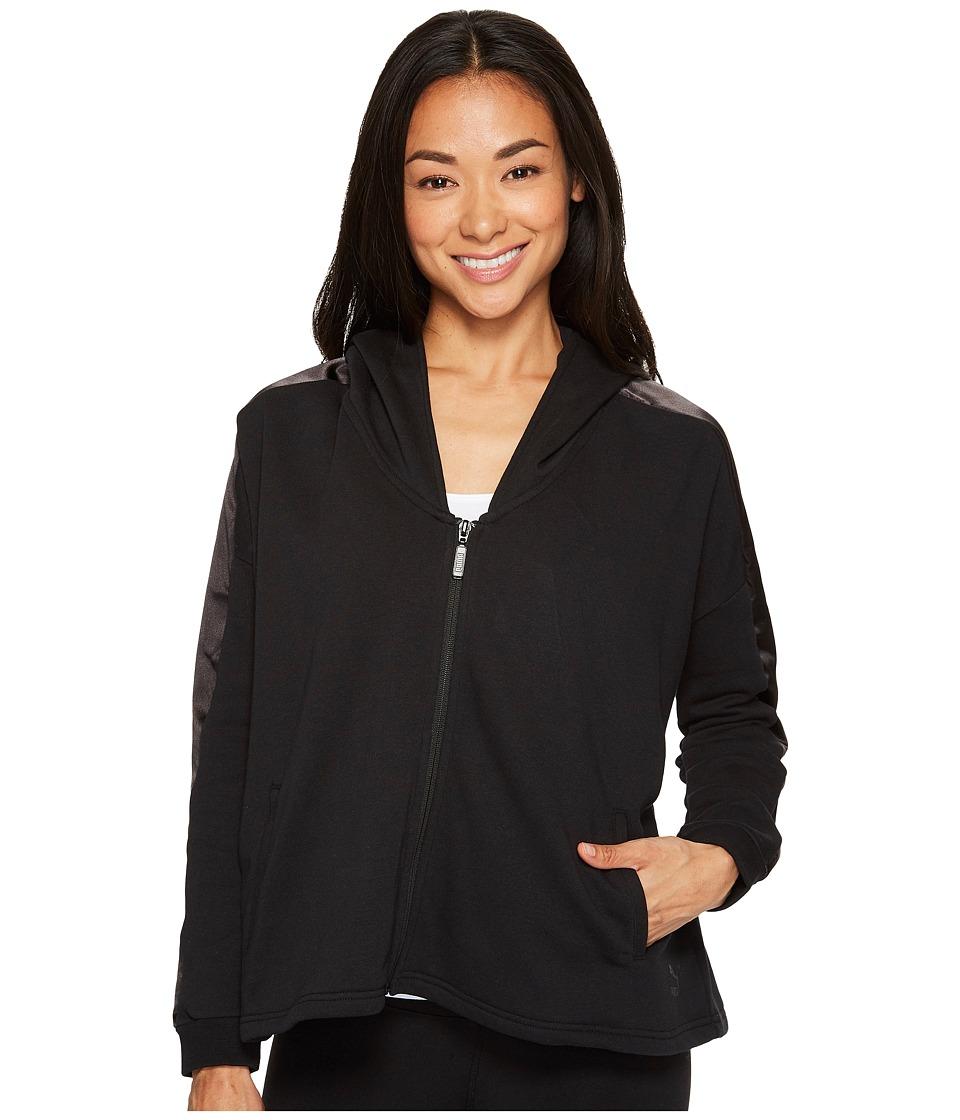 PUMA - Satin T7 Track Jacket (PUMA Black) Women's Coat