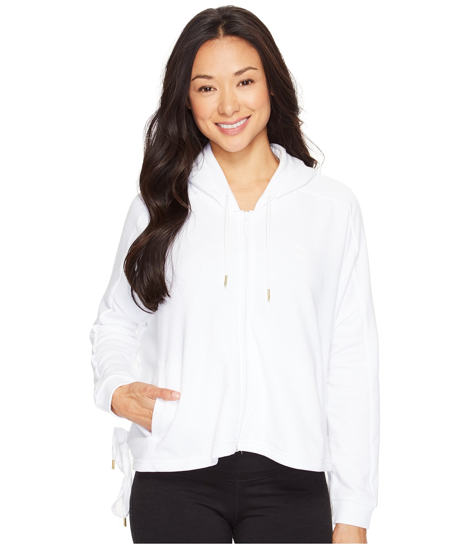 PUMA - Heart T7 Track Jacket (PUMA White) Women's Coat