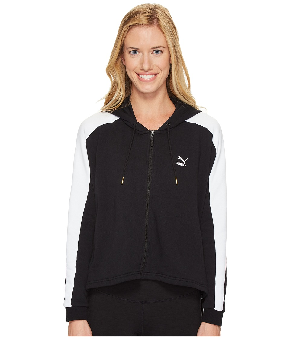 PUMA - Heart T7 Track Jacket (PUMA Black) Women's Coat