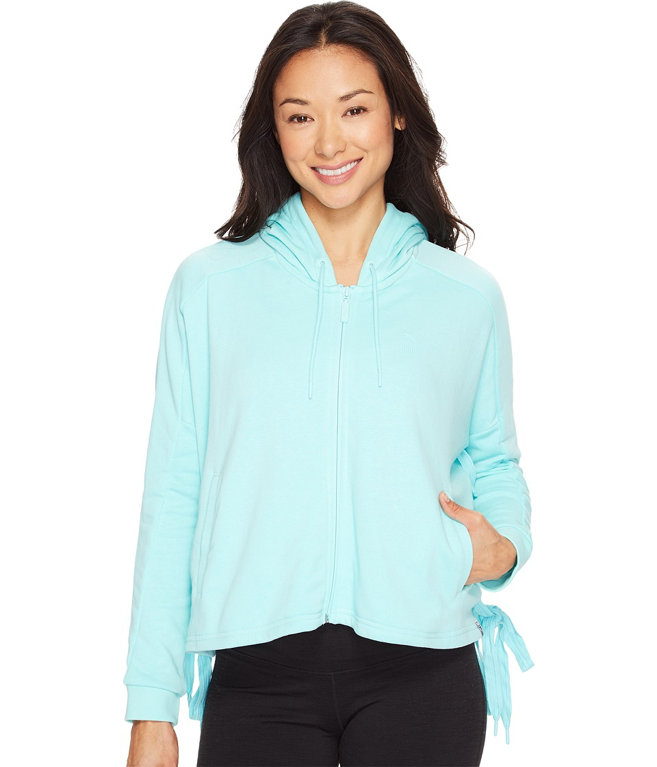 PUMA - Heart T7 Track Jacket (Aruba Blue) Women's Coat