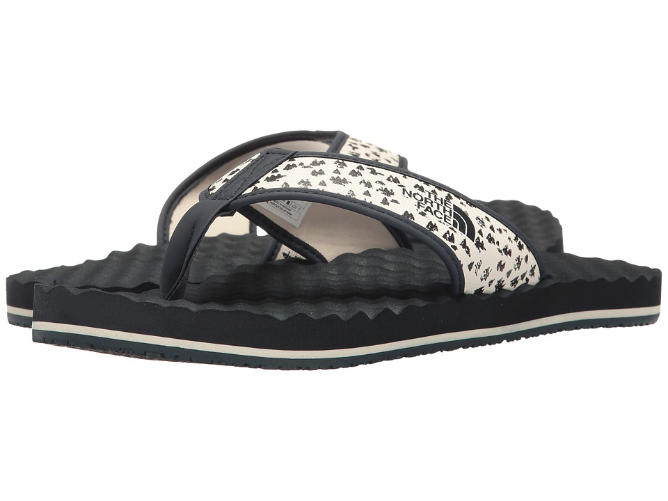 The North Face - Base Camp Flip-Flop (Vintage White/Urban Navy (Prior Season)) Men's Sandals