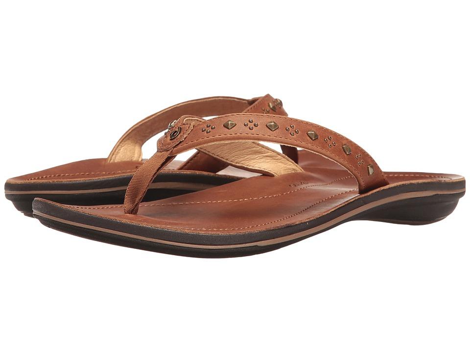 OluKai - Liko (Rattan/Rattan) Women's Sandals
