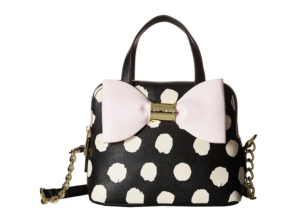 Betsey Johnson - Triple Entry Mini Dome (Polka Dot) Satchel Handbags