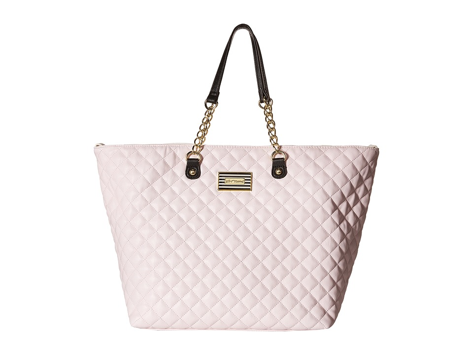 Betsey Johnson - Trap Tote (Blush) Tote Handbags