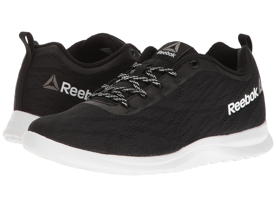 Reebok - Walk Ahead MT (Black/White) Women's Walking Shoes
