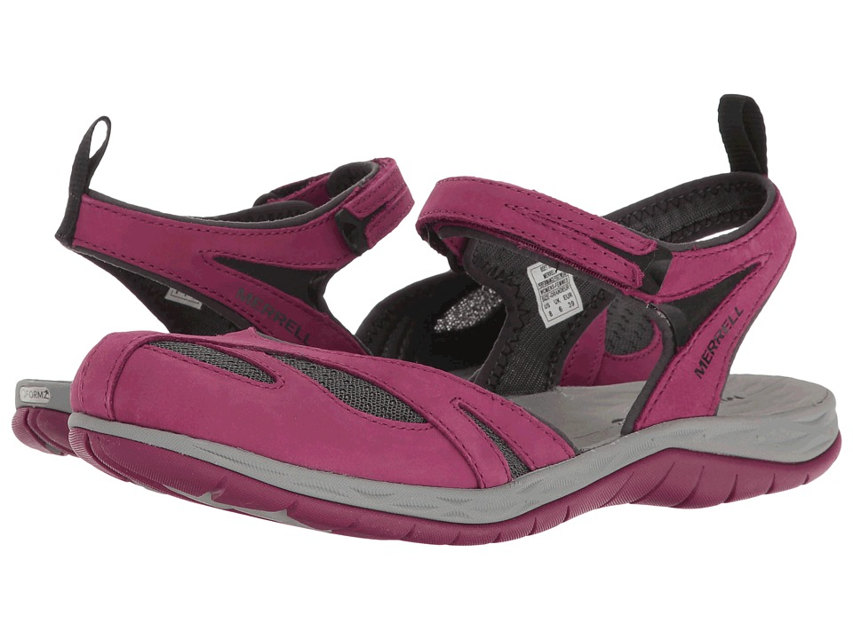Merrell - Siren Wrap Q2 (Beet Red) Women's Sandals