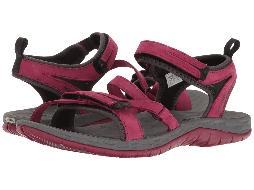 Merrell - Siren Strap Q2 (Beet Red) Women's Sandals