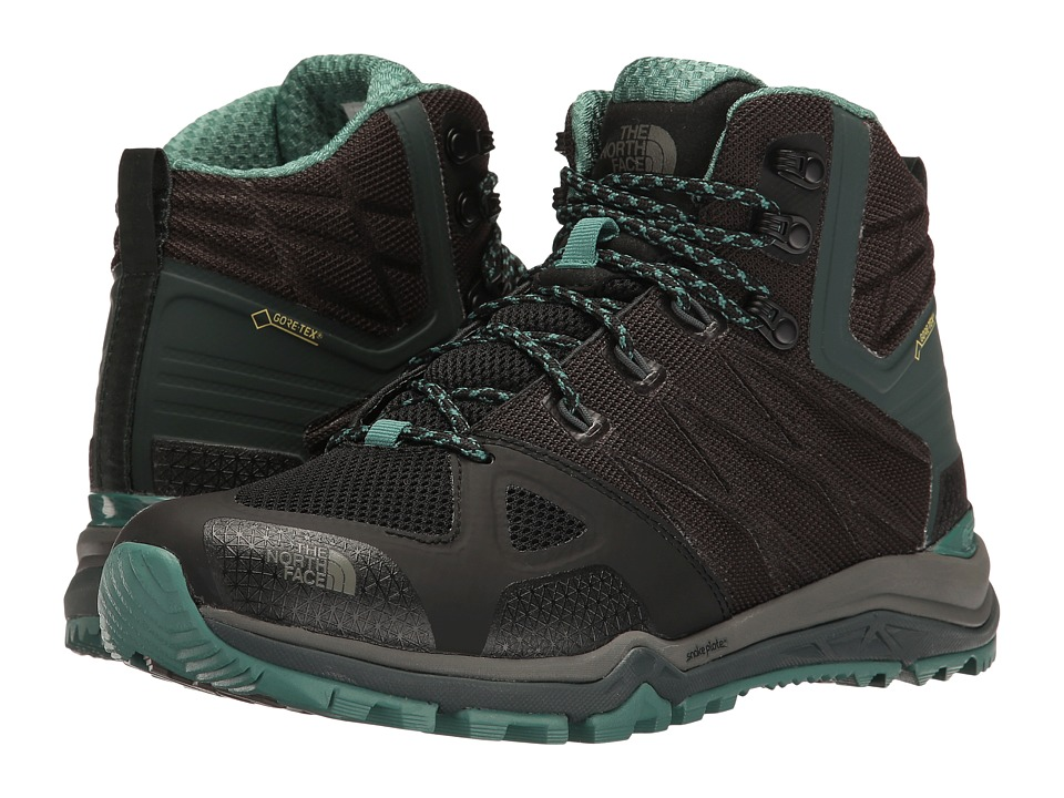 The North Face - Ultra Fastpack II Mid GTX(r) (TNF Black/Deep Sea) Women's Hiking Boots