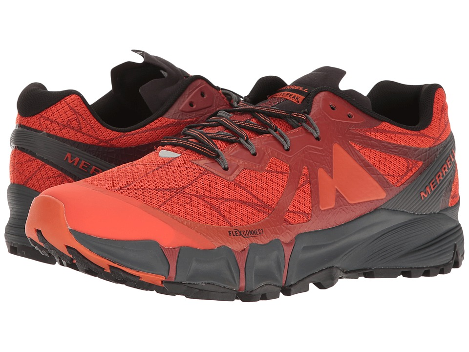 Merrell - Agility Peak Flex (Merrell Orange) Men's Shoes